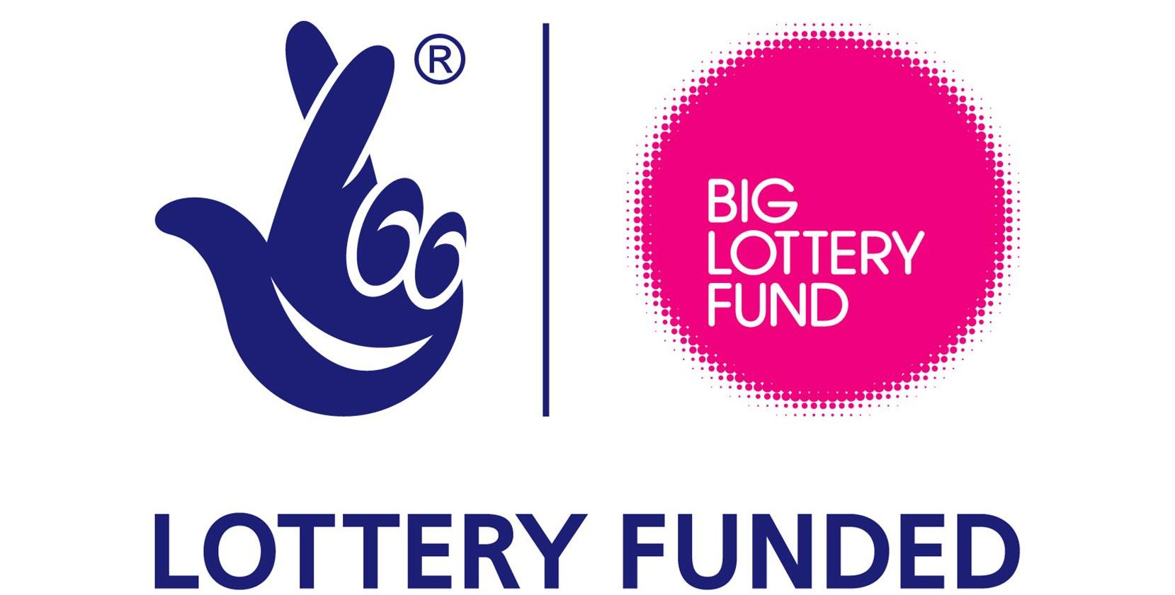 Big lottery fund blue pink